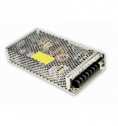 Duální napájecí adaptér, montáž na DIN lištu, 24V DC 3,7A a 12V DC 3,7A