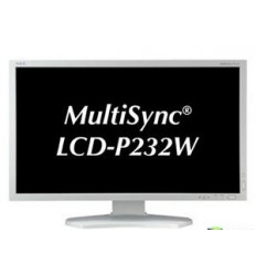 "23"" LED NEC P232W - FullHD,IPS,HDMI,DP,USB,piv,Slv"