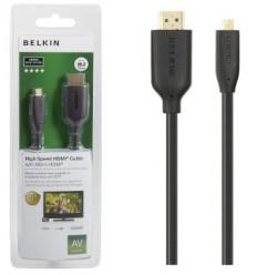 BELKIN HDMI - Micro HDMI kabel Gold, 3 m