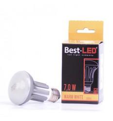 BEST-LED žárovka R63, 240V, 7W, 570lm,WW