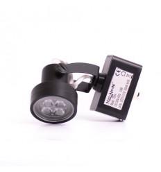 NN LED Track Light černé, 240V, 7W, 320lm, 20°, NW