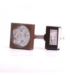 NN LED Track Light hnědé, 240V, 8W, 420lm, 25°, NW