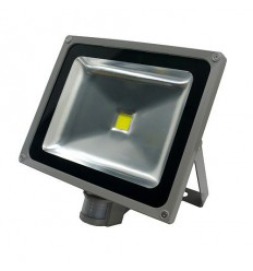 LED reflektor Flood light 50W s čidlem, 240V, CW