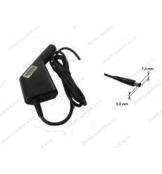 TM CAR (AUTO) Adapter DC 90W pro HP 18.5V 4.9A 7.4x5.0 YD-185-490