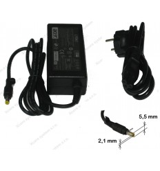 AC Adapter pro ACER 19V 3,42A 5,5x2,1 25.10064.041 65W