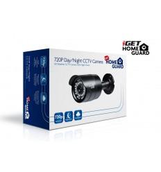 iGET HGPRO728 - CCTV HD 720p barevná kamera IP66, BNC+Jack, noční přísvit IRLED 30m