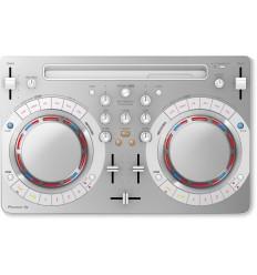 Pioneer DJ kontrolér s Recordbox DJ bílý
