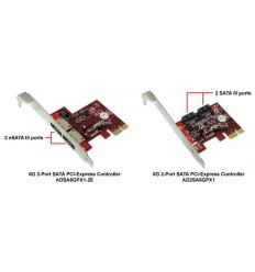 Addonics 6G 2-port SATA PCI-Express Controller