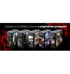 X-DIABLO GAMER_6100 - konfig. polepu