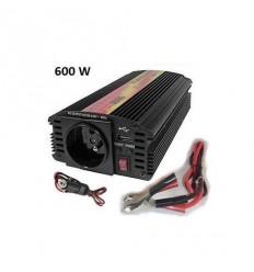 Měnič napětí Carspa CAR600U-242 24V/230V+USB 600W, modifikovaná sinus