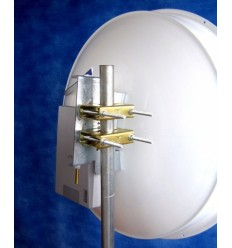 Duplexní směrová parabola s límcem 34dBi k UBNT PowerBridgeM10 (2pack)