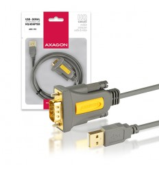 AXAGON ADS-1PS, USB2.0 - sériový RS232 DB9 Prolific adaptér / kabel 1,5m