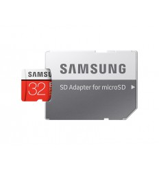 Samsung micro SDHC 32GB EVO Plus + SD adaptér