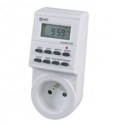 Digitální spínací zásuvka 3680W - denní (P5501)