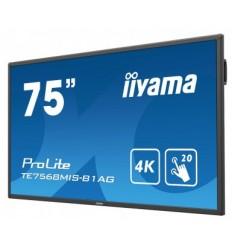 "75"" LCD iiyama ProLite TE7568MIS-B1AG -4K,IPS,USB"