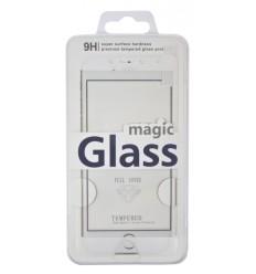 Aligator CARBON FIBER GLASS Huawei P10 white