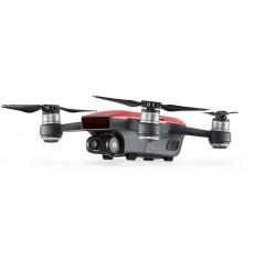 DJI kvadrokoptéra - dron, Spark Fly More Combo, Full HD kamera, červený