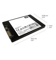 """SSD 2,5"""" 2TB WD Blue 3D NAND SATAIII 7mm"""