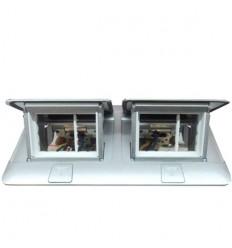 Krabice POPUP 2x3M matný hliník