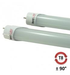 BEST-LED zářivka T8, 1200mm, 22W, 2300lm, 4000K bez otočné patice