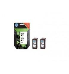 Inkoustová náplň HP 339 černá, dvojbalení