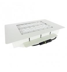Zápustné LED osvětlení čerpacích stanic 80W, 8400 lm, 240V