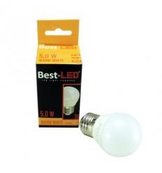 BEST-LED žárovka G45 - E27, 240V, 5W, 450lm, 3000K