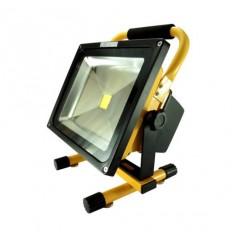 Bateriový LED reflektor 20W, 1300lm, Li-ion 7,4V, 6600mAh