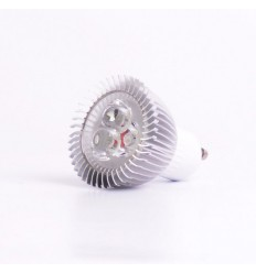 NN LED žárovka Standard GU10, 240V, 3W, 270lm, CW