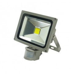 LED reflektor Flood light 20W s čidlem, 240V, CW
