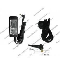 HP AC Adaptér 19V, 1.58A,konektor 4.8x1.7 496813-001 30W
