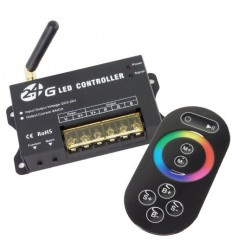 RF RGB LED kontrolér 2.4G, 5-24V DC